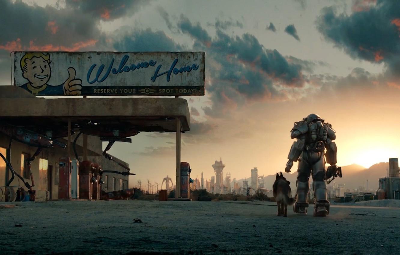 Photo wallpaper dog, the atmosphere, Armor, Bethesda Softworks, Equipment, Bethesda Game Studios, Fallout 4, Power Armor