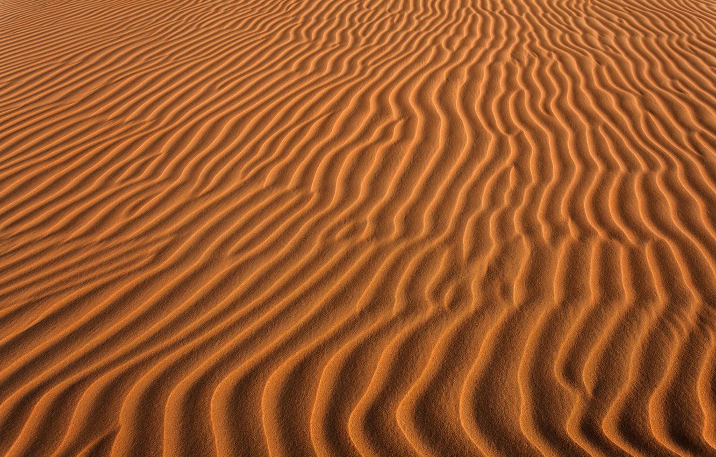 Photo wallpaper sand, wave, nature, desert