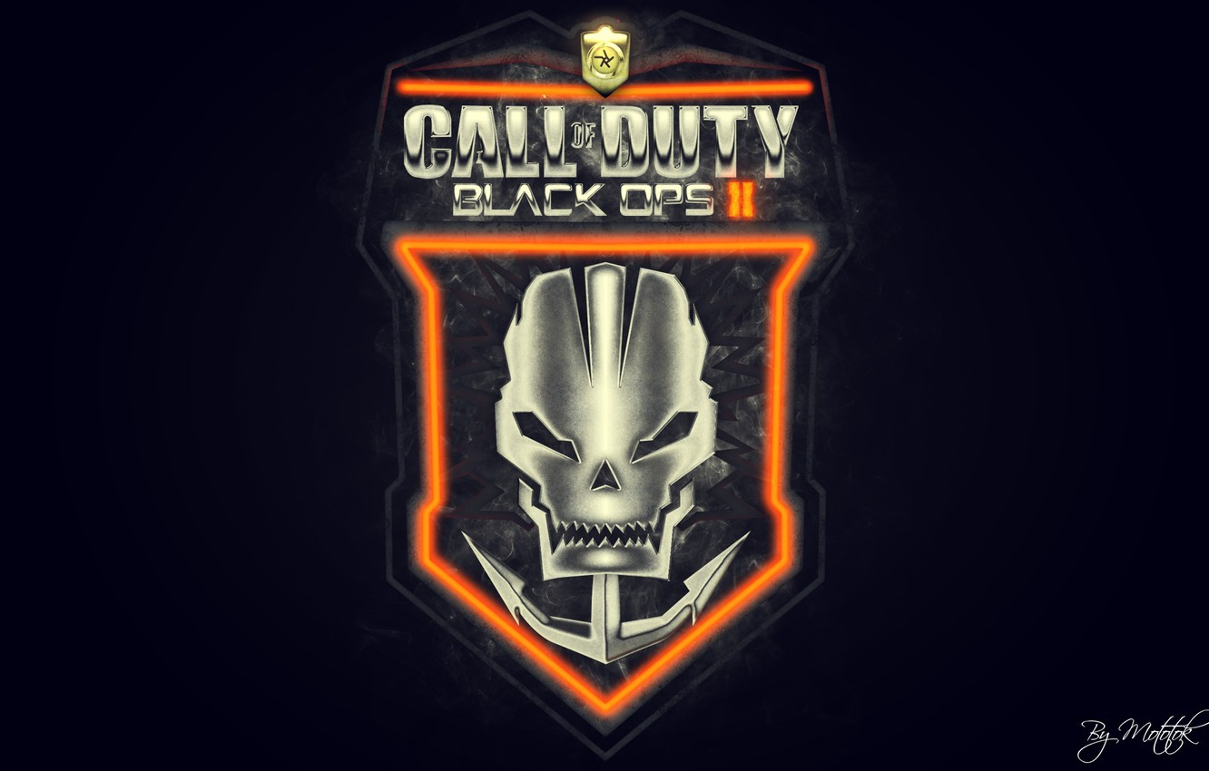Wallpaper Call Of Duty Black Ops 2 Fan Art Emblem Images For