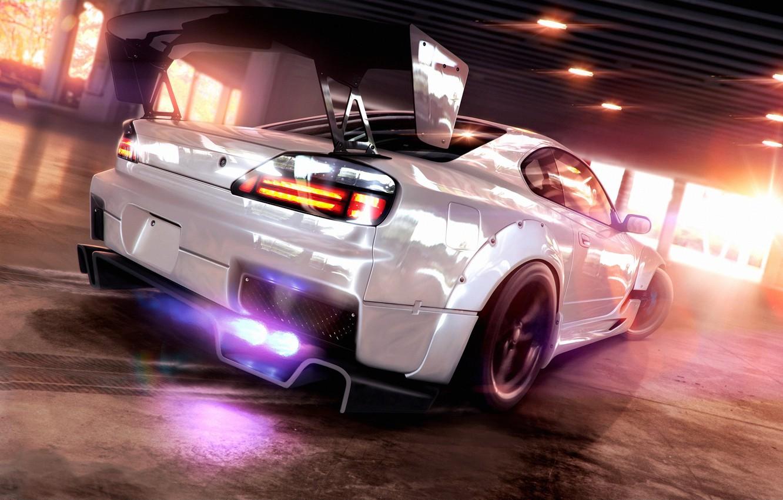 Photo wallpaper Silvia, Nissan, Speed, Tuning