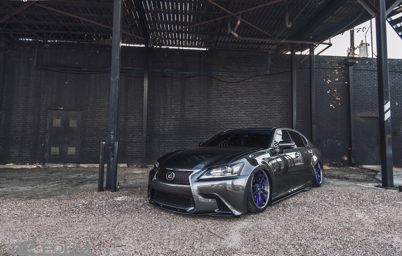 Photo wallpaper Lexus, Wheels, Before, Garde