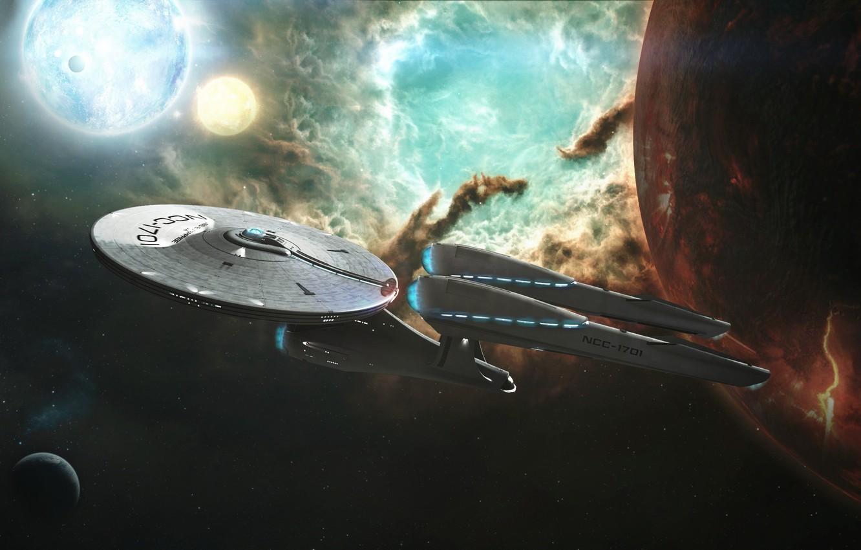 Wallpaper Space Enterprise Star Trek Into Darkness Ncc1701