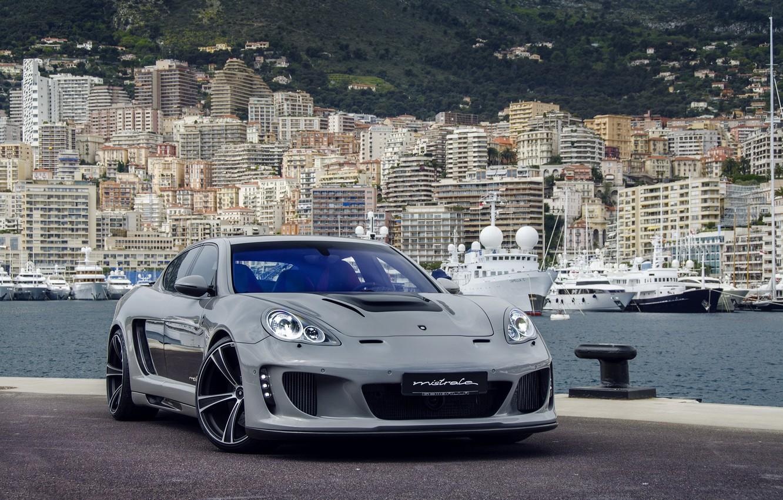 Photo wallpaper Porsche, Panamera, Gemballa, Mistrale