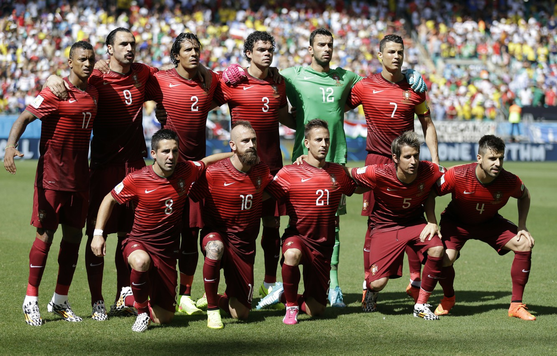 Photo wallpaper Sport, Football, Cristiano Ronaldo, Nani, Cristiano Ronaldo, Pepe, Nani, World Cup 2014, World Cup 2014, …