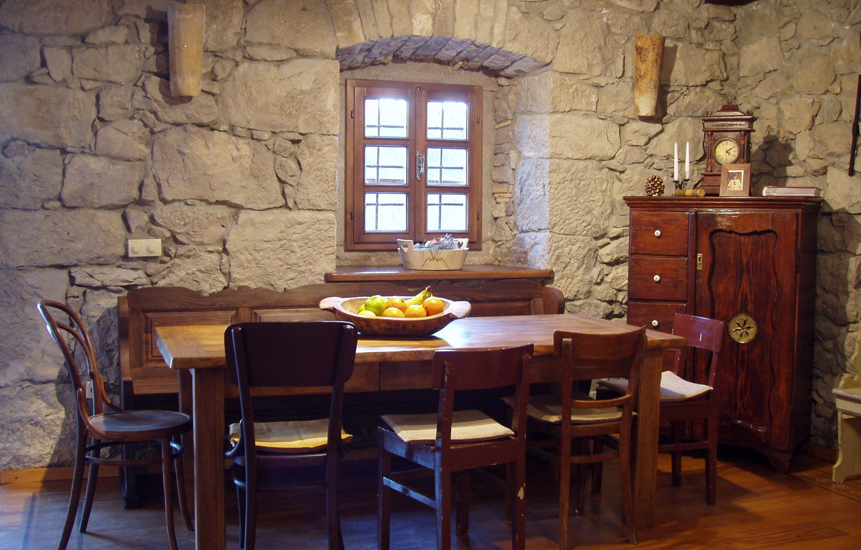 Photo wallpaper design, house, room, interior, dining room, Mediterranean style