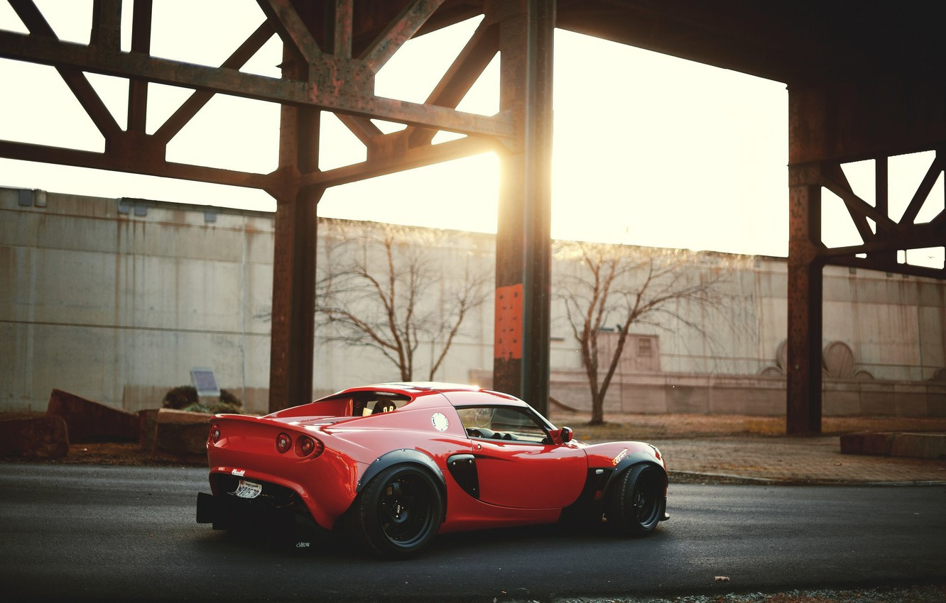 Photo wallpaper machine, red, Wallpaper, red, Lotus, Auto, cars, Lotus Elise, wallpapers, Alice