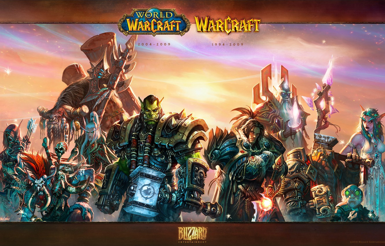 Wallpaper Elf People Wow World Of Warcraft Dwarf Orc