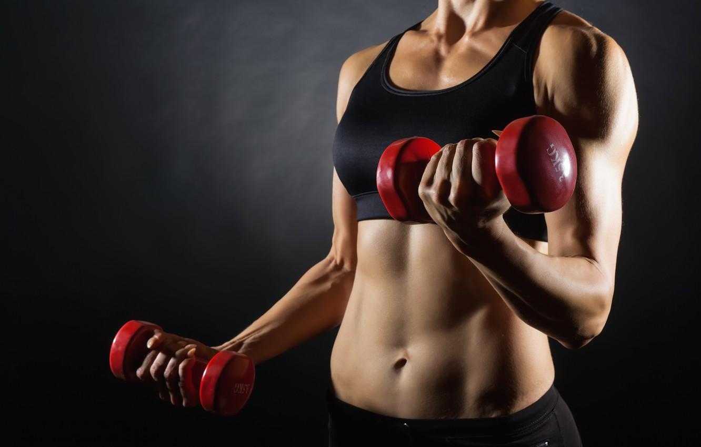 Wallpaper Women Workout Fitness Dumbbell Images For