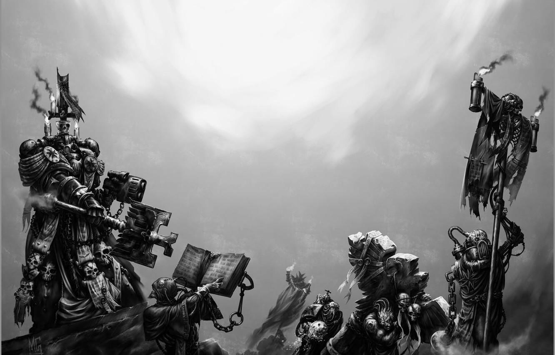 Wallpaper Black Templars Space Marine Warhammer 40k Bolter