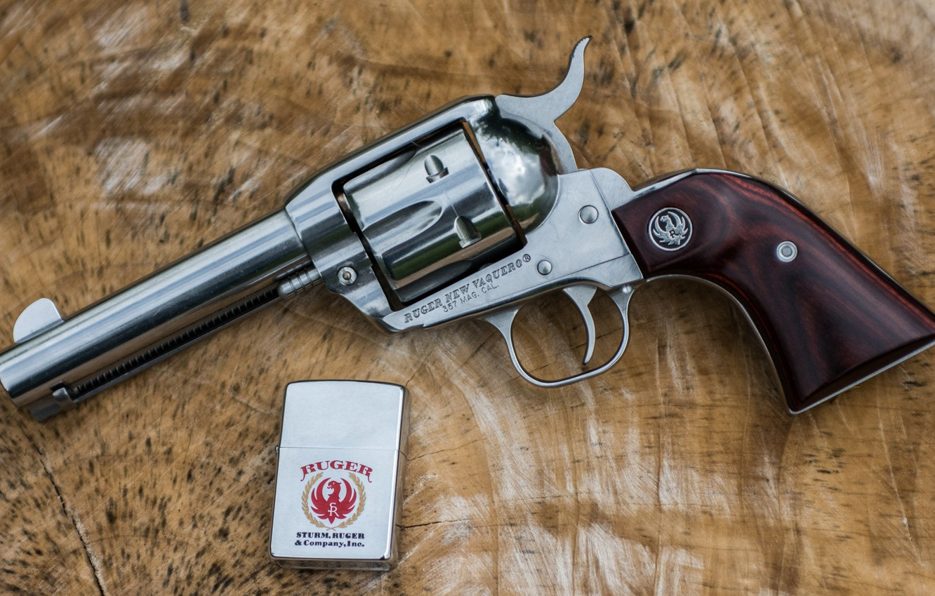Photo wallpaper weapons, background, lighter, trunk, revolver, the handle, Ruger