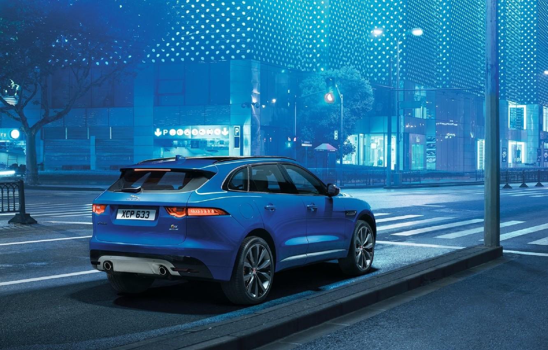 Photo wallpaper Jaguar, SUV, F-Pace