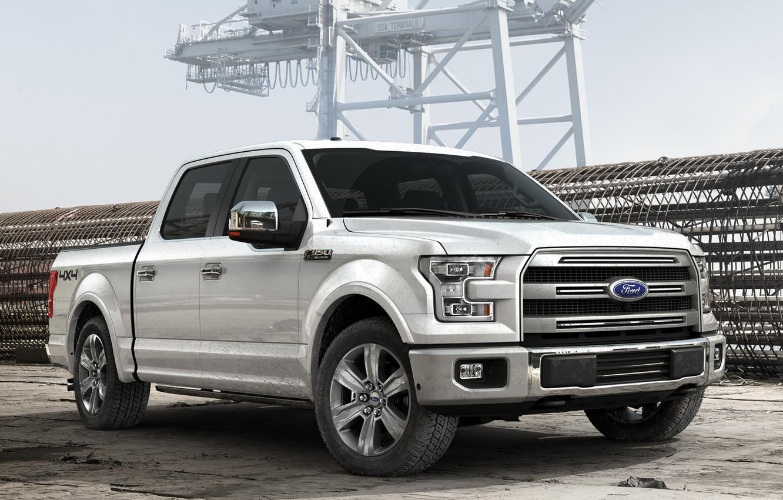 Photo wallpaper Ford, 2015, Platinum, -150