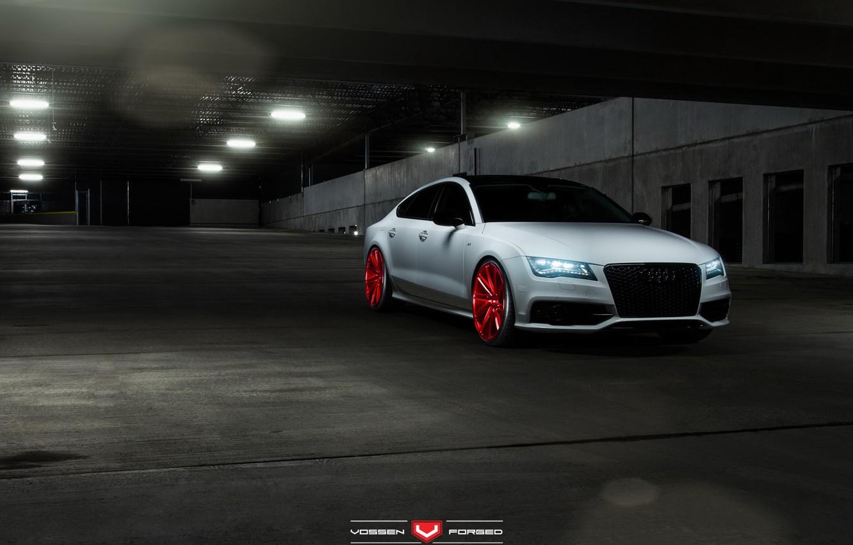 Photo wallpaper car, tuning, Vossen Wheels, Elusive Motoring, Audi S7