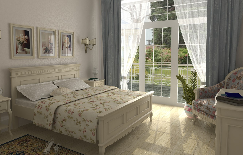 Photo wallpaper design, style, room, interior, bedroom