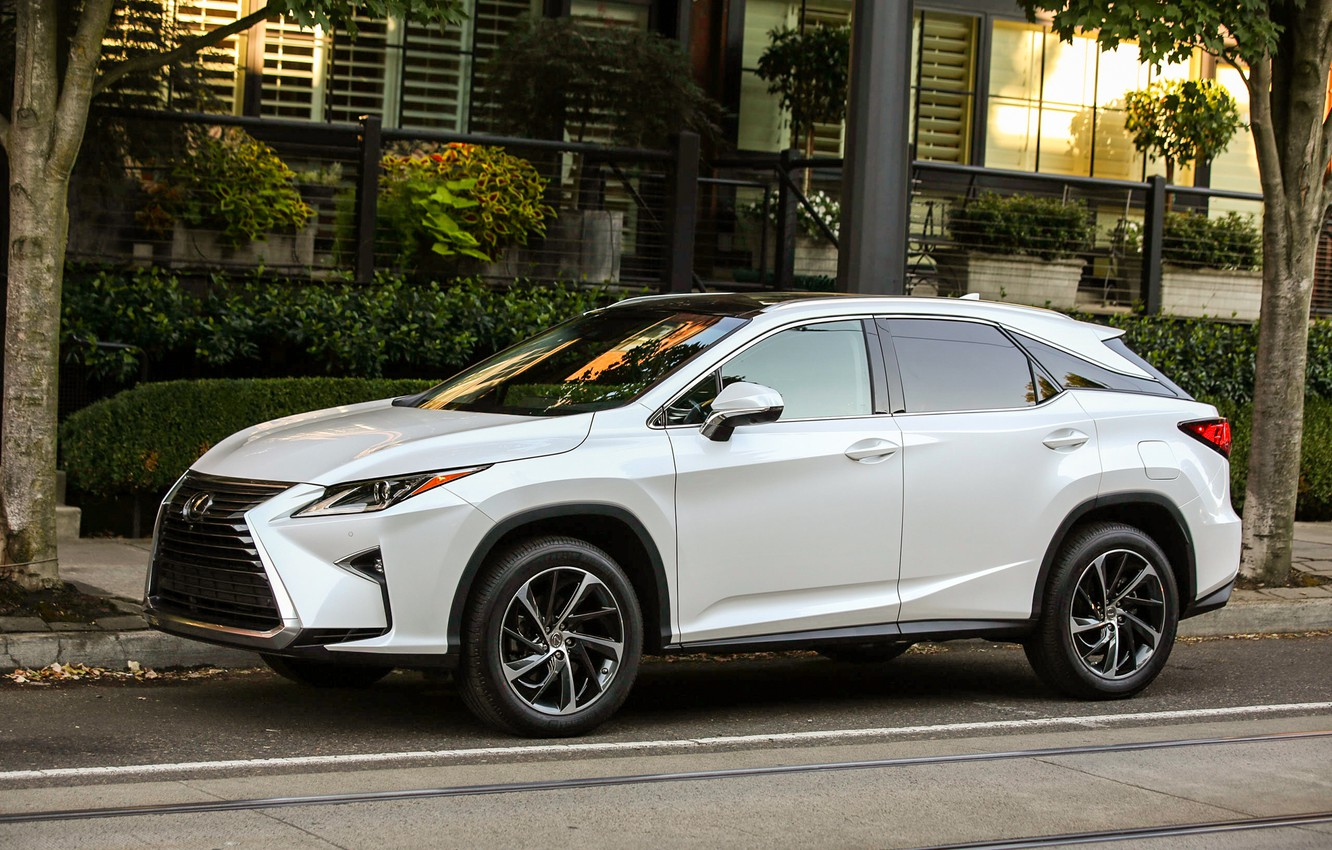 Photo wallpaper Auto, White, Lexus, Machine, Car, 350, 2016, Lexus RX