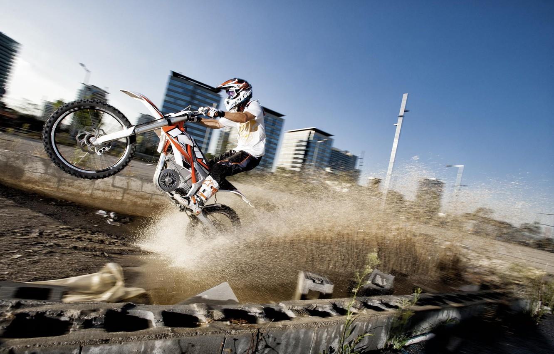 Photo wallpaper Wallpaper, sport, motorcycle, 2012, KTM, freeride