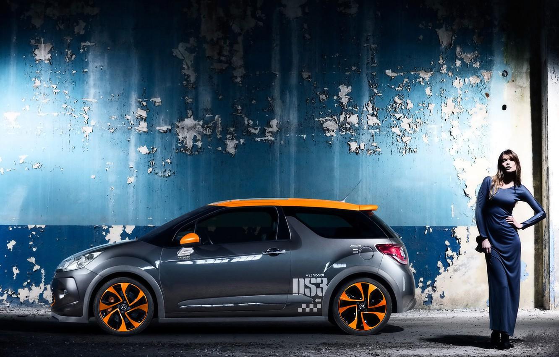 Photo wallpaper auto, machine, girls, cars, cars, citroen, Citroen