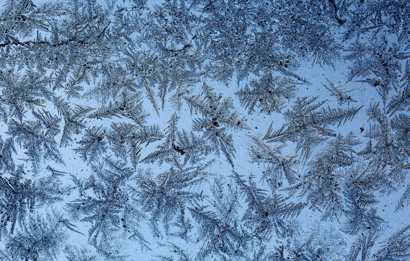 Photo wallpaper cold, background, patterns