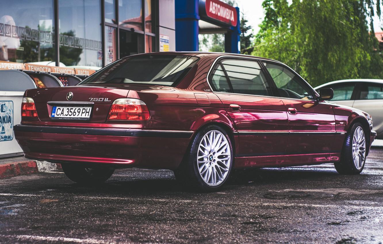Photo wallpaper BMW, Boomer, BMW, E38, Tuning Car, 750iL