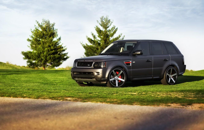 Photo wallpaper car, tuning, jeep, SUV, Land Rover, Range Rover