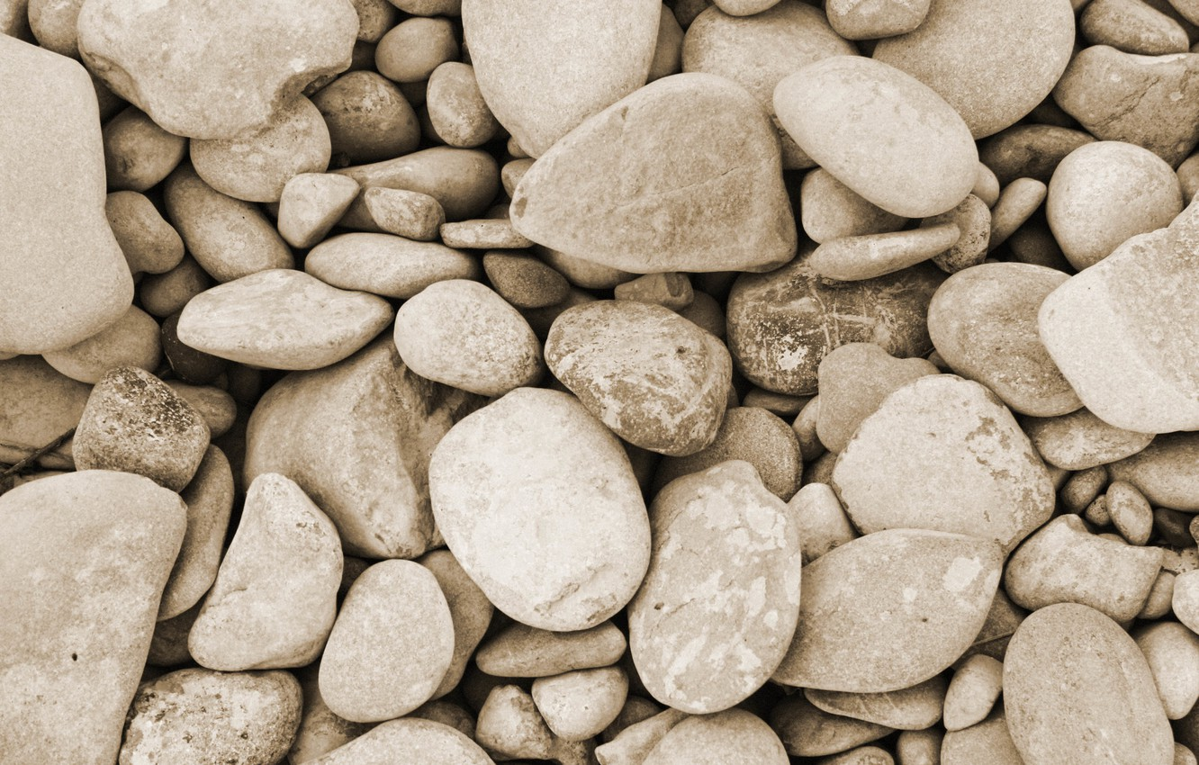 Photo wallpaper stones, large, a lot