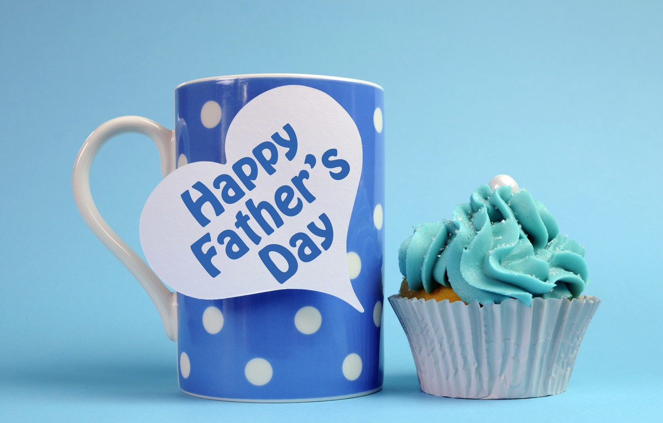 Wallpaper Mug Cupcake Happy Fathers Day Images For