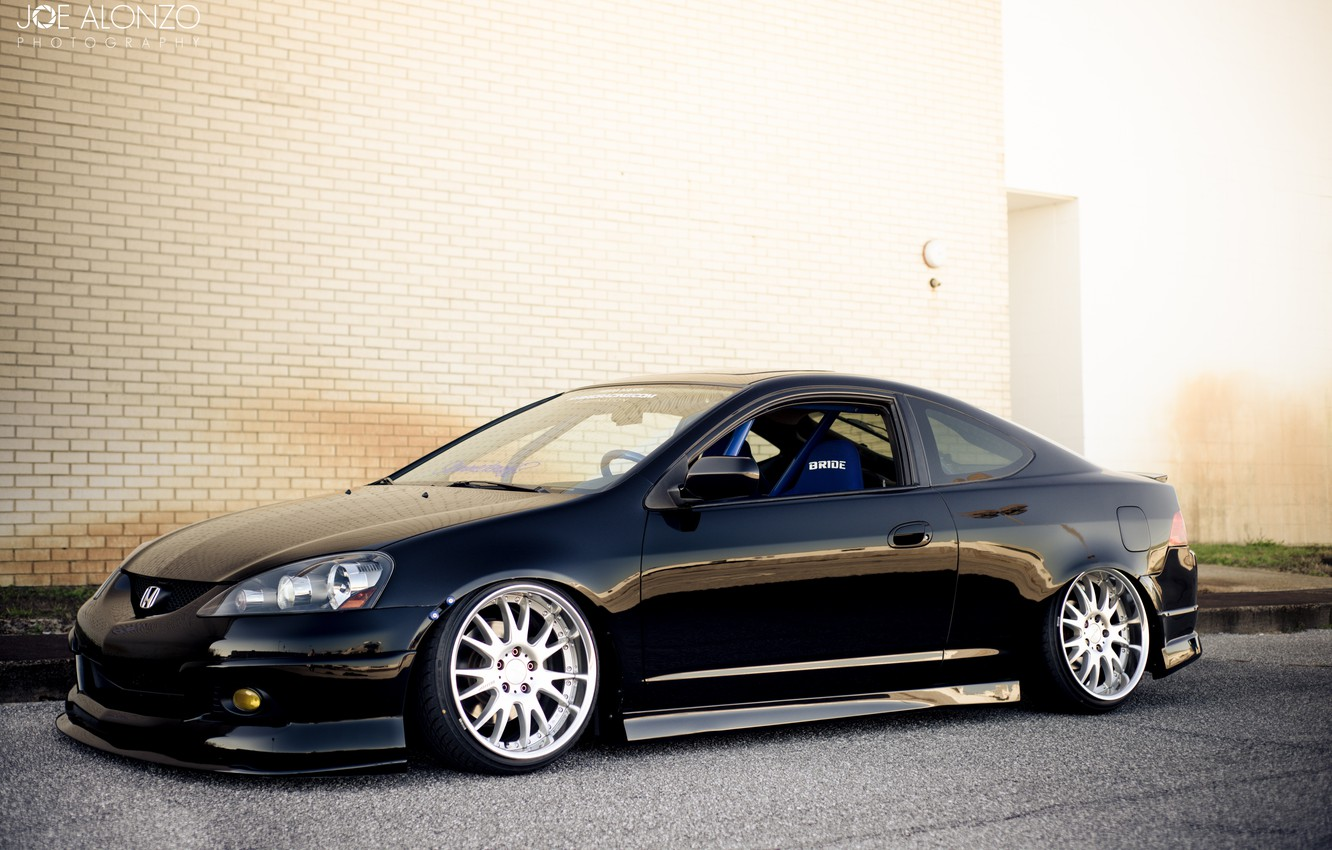 Photo wallpaper Honda, Acura, Stance, Wheels, Integra, AME, RSX