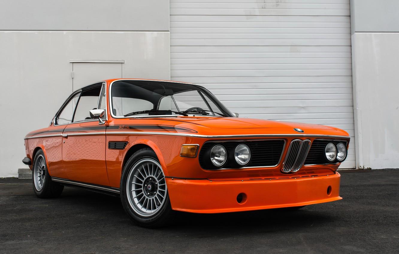 Photo wallpaper BMW, Orange, 3.0, CSL, Alpina
