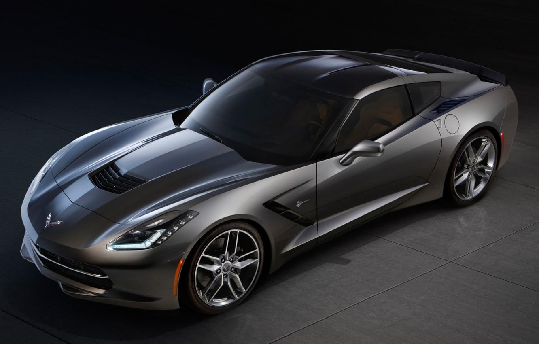 Photo wallpaper Corvette, Chevrolet, Chevrolet, Stingray, Corvette, Stingray