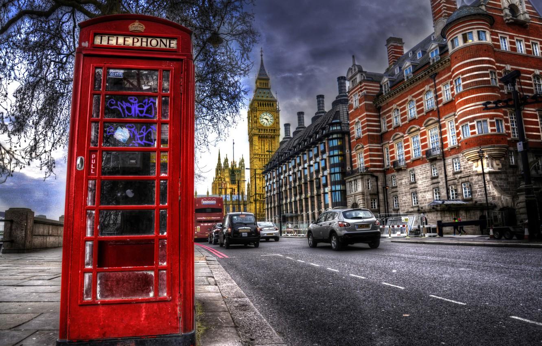 Wallpaper Street England London Big Ben Street