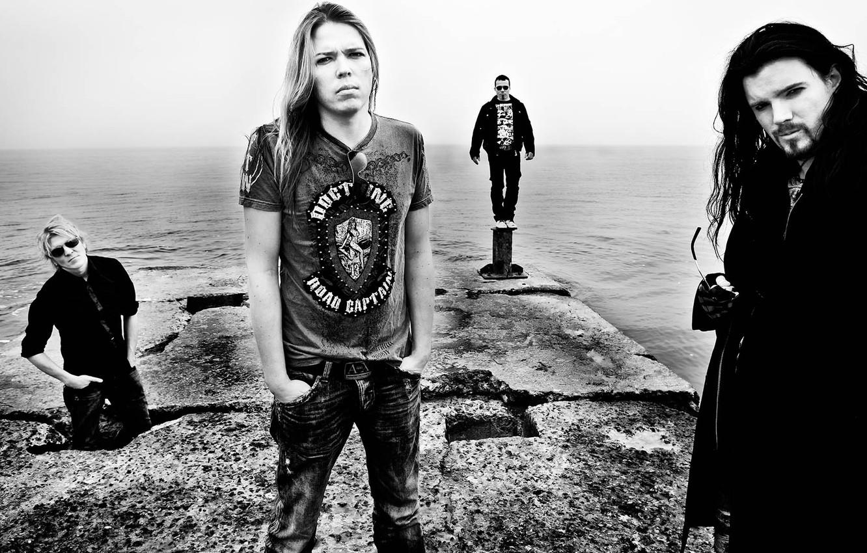 Photo wallpaper rock, symphony, Perttu, Kivilaakso, Eicca Toppinen, Mikko Siren, Apocalyptica, Paava Lotjonen