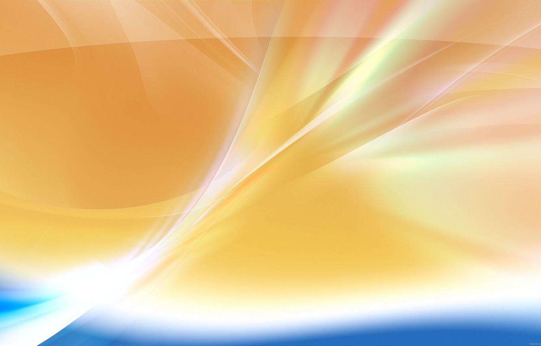 Photo wallpaper orange, glare, modern, 149