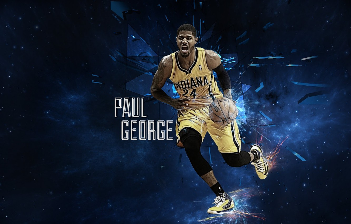 Photo wallpaper basketball, basketball, nba, NBA, Indiana Pacers, Paul George,