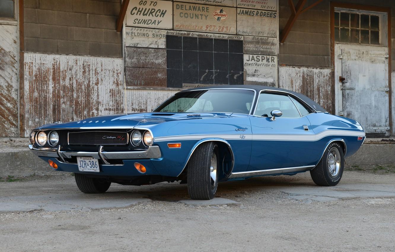 Photo wallpaper Dodge, Challenger, Dodge, 1970, Challenger, Hemi, JS29, R/T SE 426