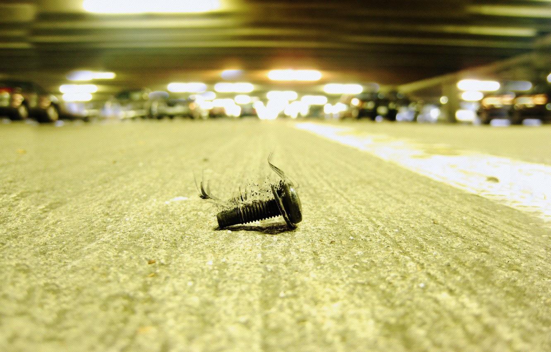 Photo wallpaper macro, bolt, dirty, meaning, rusty, Saitoti, loneliness