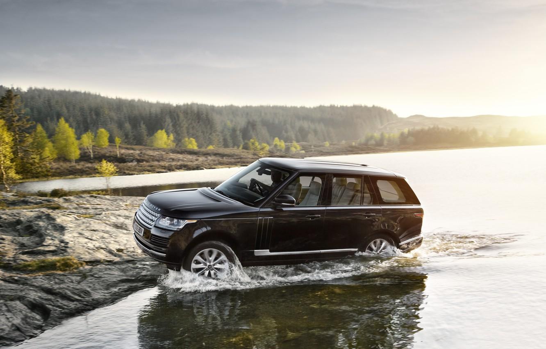 Photo wallpaper car, machine, Range Rover, range Rover, Land Rower