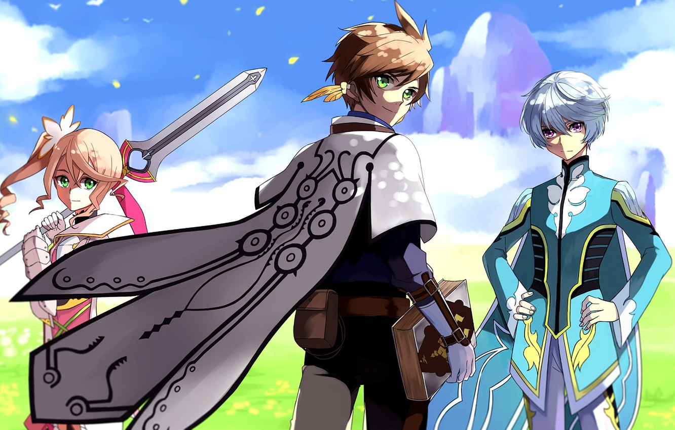 Wallpaper Anime Characters Tales Of Zestiria Images For