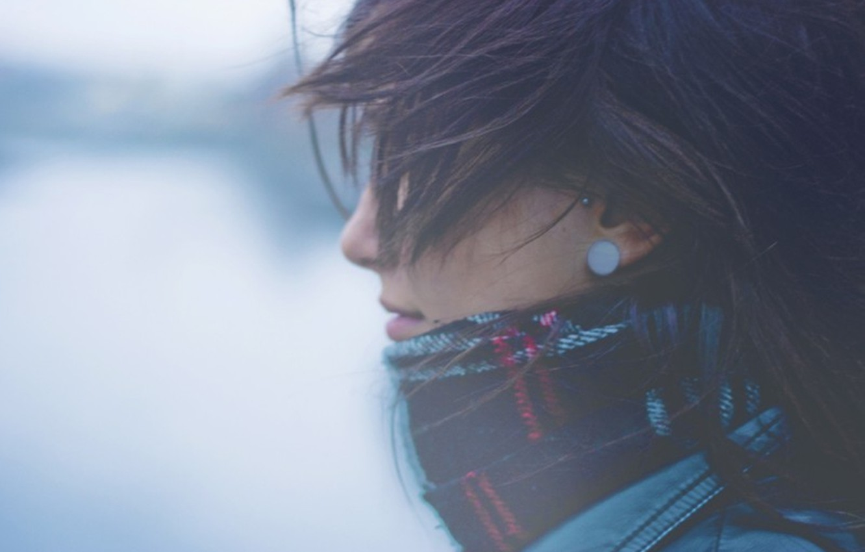 Photo wallpaper girl, background, beautiful