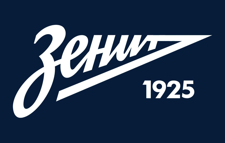 Photo wallpaper football, minimalism, logo, emblem, Zenit, zenit, Zenit, fc zenit