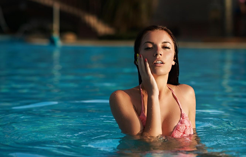 Photo wallpaper look, girl, pose, background, model, body, tan, girl, sexy, beauty, beautiful, lingerie, long hair, beauty, …
