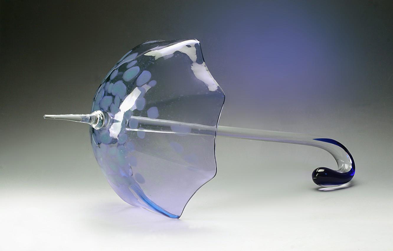 Photo wallpaper glass, umbrella, crystal, decor, Gus ' -Khrustal'nyy