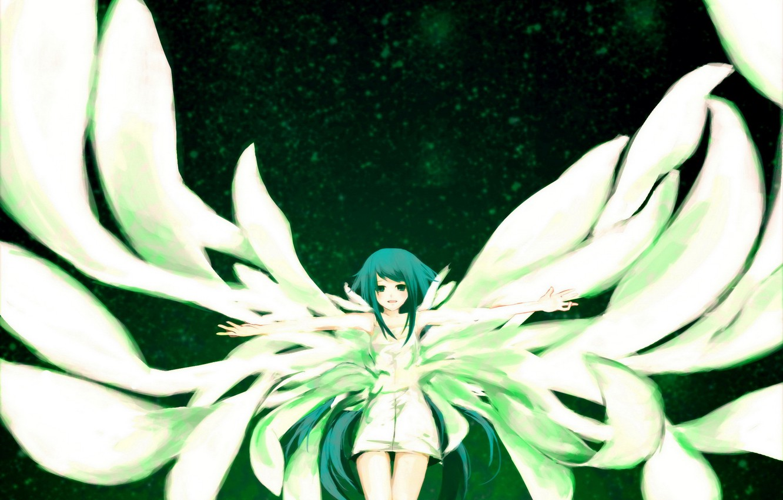 Photo wallpaper girl, wings, anime, Song of Saya, Saya no Uta, Song SAI, Saya