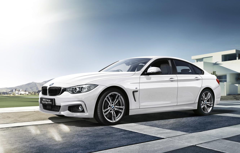 Photo wallpaper BMW, BMW, sedan, 2015, 4-Series, F36