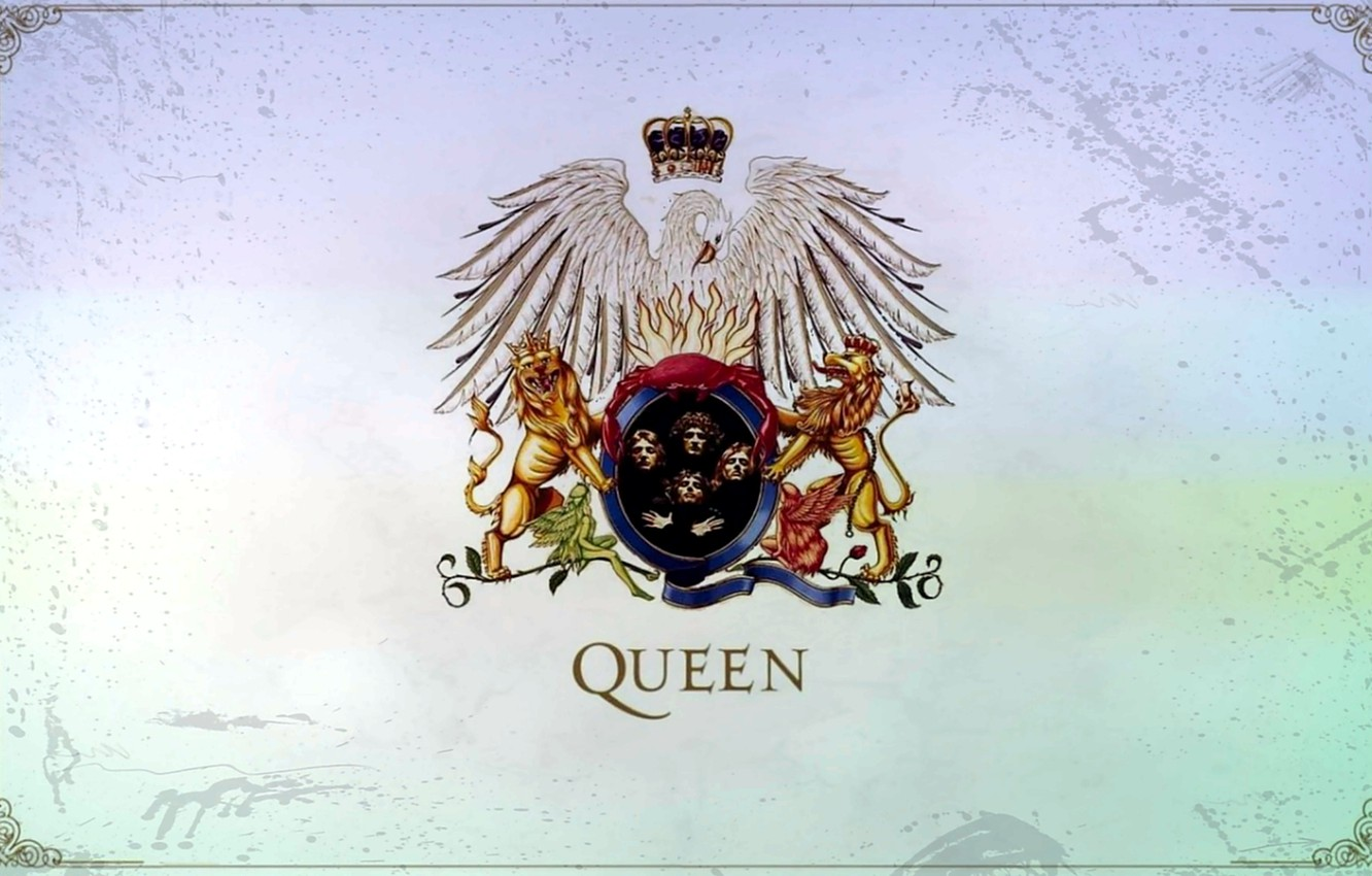 Wallpaper Figure England Group Music Logo Art Queen