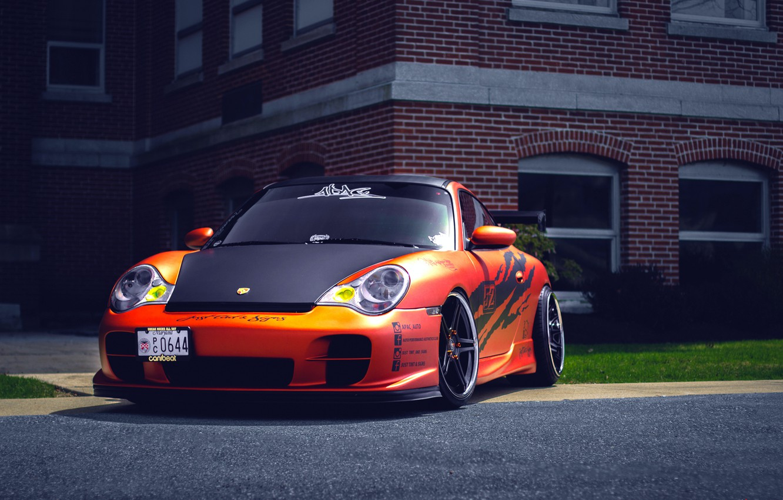 Photo wallpaper Porsche, Porsche, GT3, 991, frontside