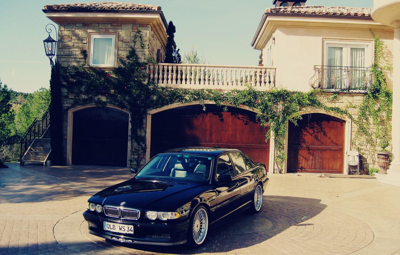 Photo wallpaper tuning, bmw, BMW, classic, 740, e38, alpine