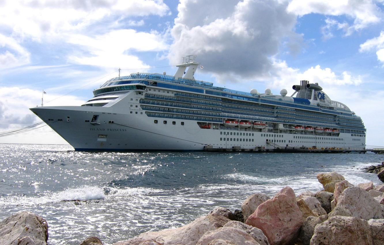 Photo wallpaper photo, ship, cruise liner, Island Princess 5