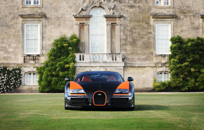 Photo wallpaper Bugatti, Veyron, WRC, Vitesse