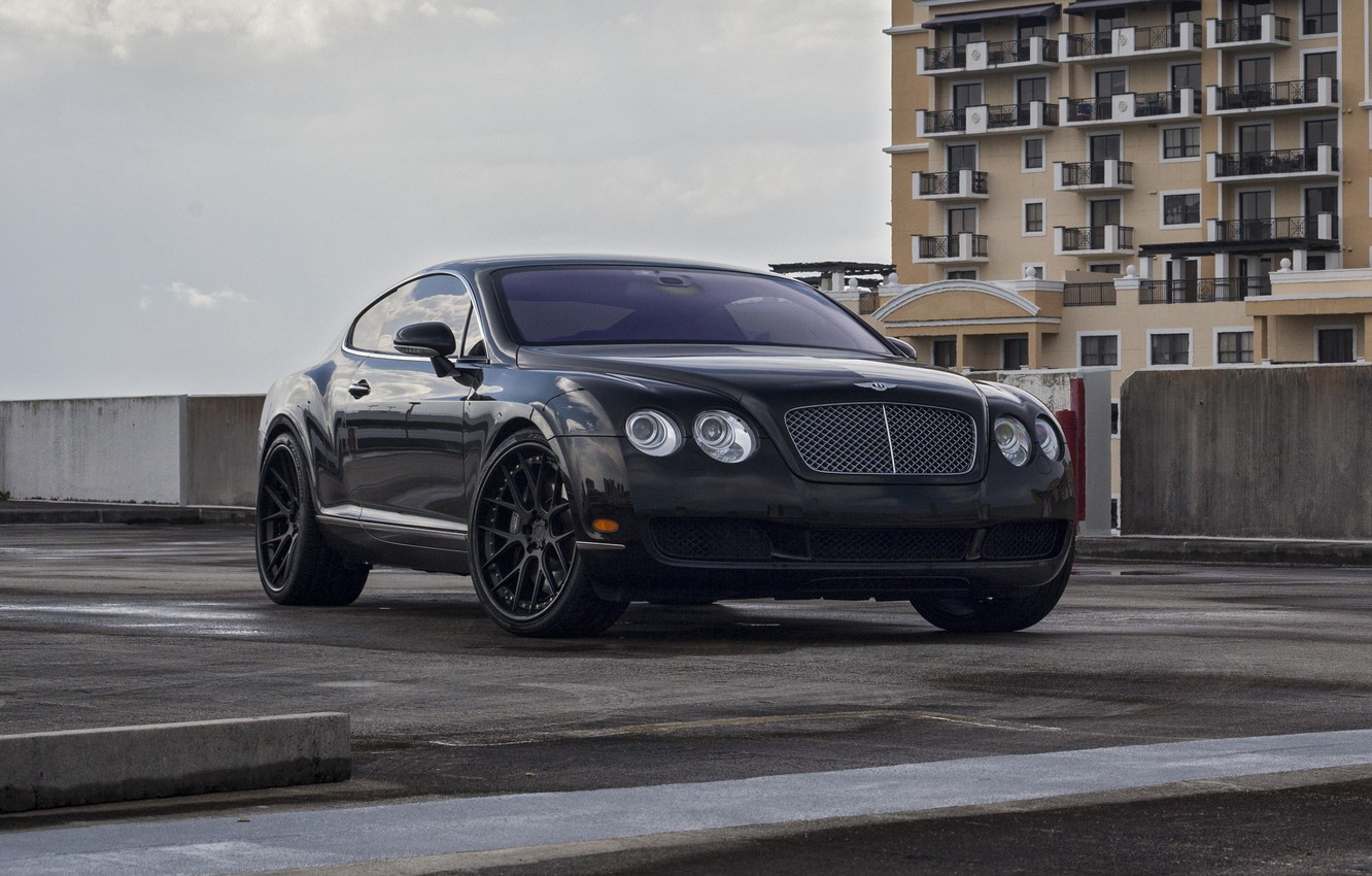 Photo wallpaper Bentley, Continental, on ADV7, TS DS