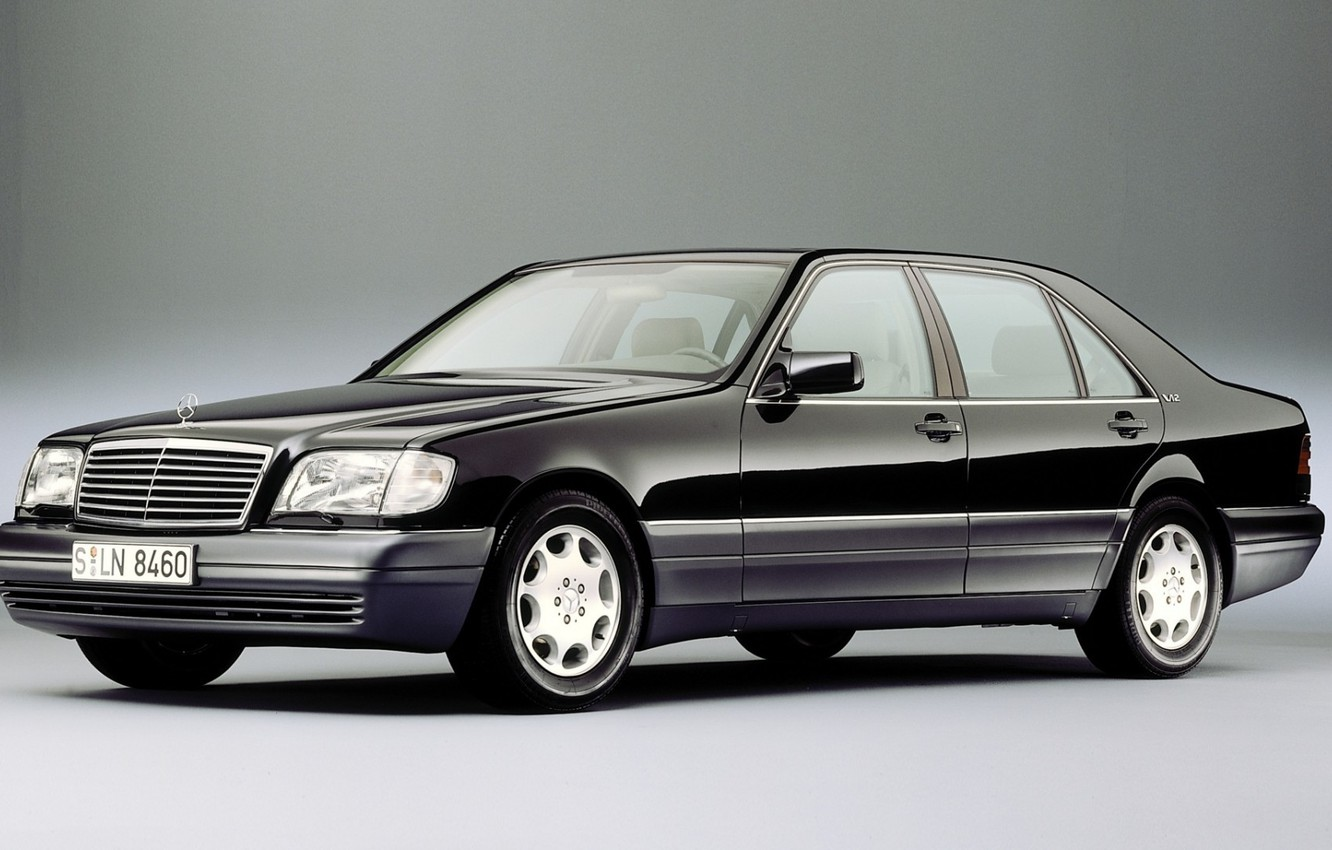 Photo wallpaper Mercedes-Benz, w140, s600?s500